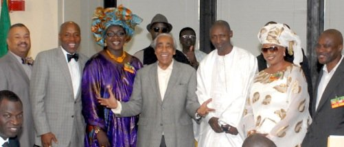 Macky Sall, newly elected president of Senegal, made Harlem a priority stop during his visit...