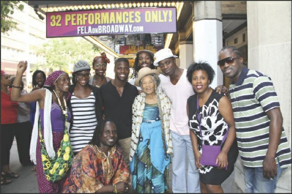 """Fela!"" only has a few more days left on Broadway; it comes to the end..."