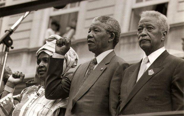 D World awaits, news of Mandela