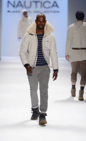 Nautica's menswear fall 2013 collection works for today's men's wardrobe. It has managed to grow...