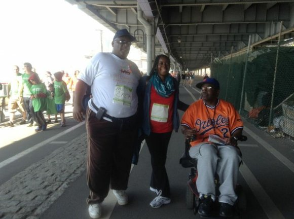 Thousands of people showed up to support the 25th annual Walk MS to raise money...