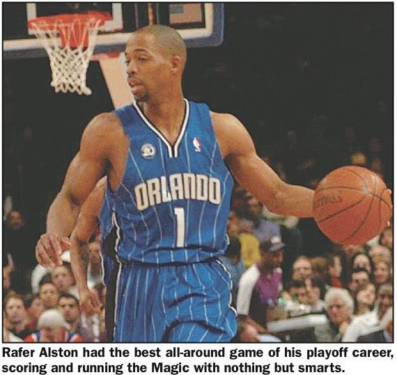 ORLANDO--Finally, Rafer Alston has had a breakout game. Sure, Alston, from Jamaica, Queens,and Cardoza High...