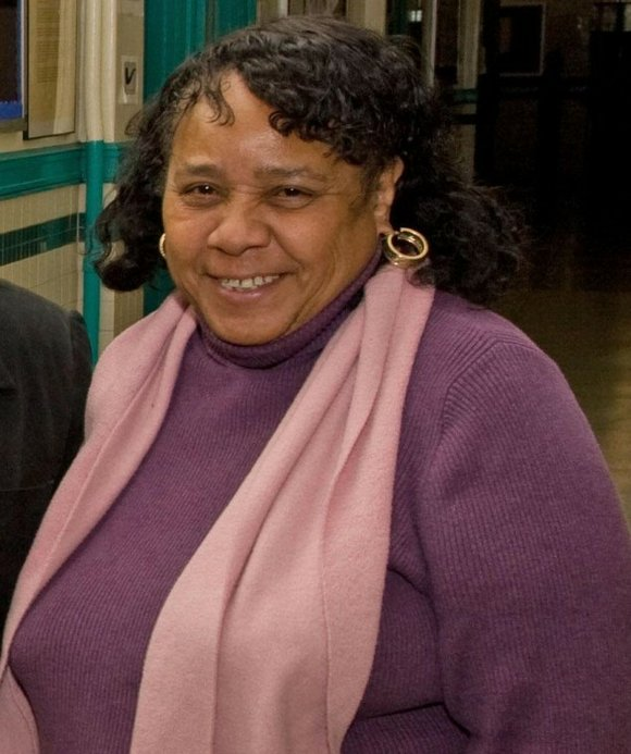 Delores Roberts, a teacher at Wadleigh Secondary School, located at 215 West 114th Street in...