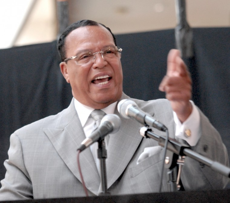 the life and leadership of the religious leader louis farrakhan