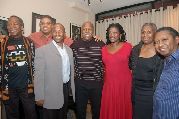 Veteran political activist Omowale Clay celebrated his 65th birthday among a host of friends and...