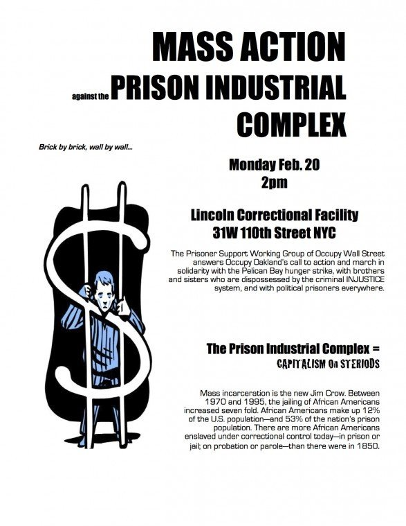 National day of action calls for end to prison-industrial complex