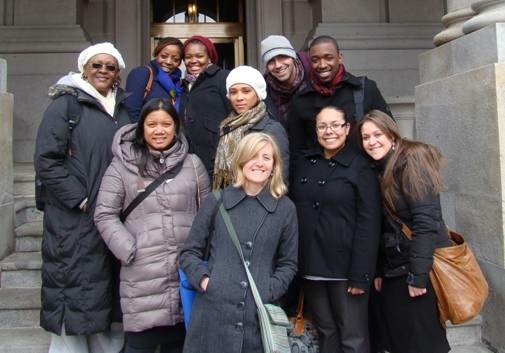 Touro students visit Albany to press for immigration reform