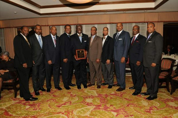 Record 24 new members  inducted into One Hundred Black Men Inc. at 48th annual celebration of Founders Day