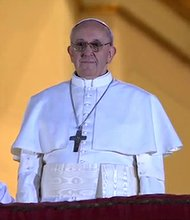 New Latin American pope  Jorge Mario Bergoglio not a person of color?