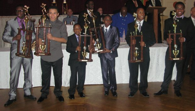 The Brooklyn Skyhawks' 36th annual football banquet