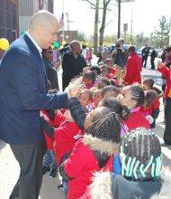 Earth day celebrated in Newark