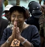 Nov. 15 (GIN) - Ellen Johnson Sirleaf won a second term as president of Liberia...