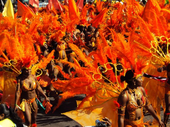 The 50th annual West Indian Day Parade took place on Monday on Brooklyn's Eastern Parkway.