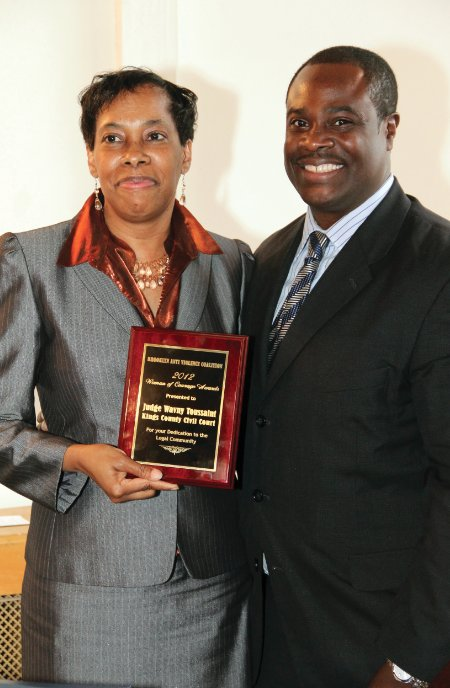 Brooklyn Anti-Violence Coalition honors Women of Courage
