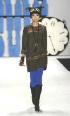 Anna Sui's fall 2012 collection takes you on a creative journey that is unparalleled in...