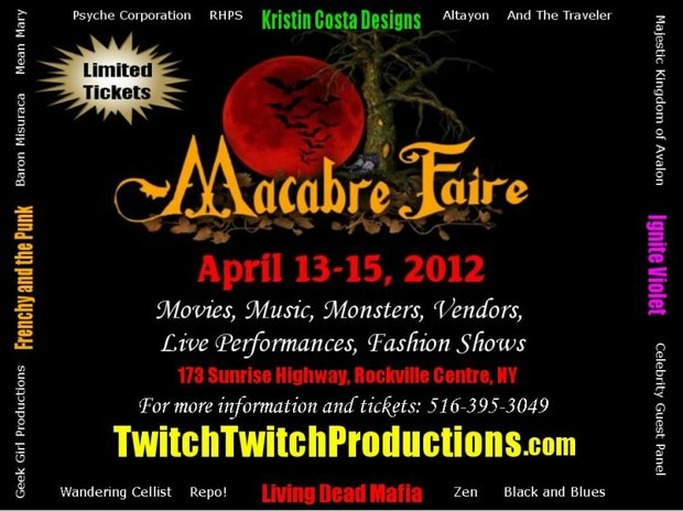 Twitch Twitch Productions presents the Macabre Faire