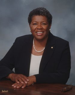 Jackie Jenkins-Scott, president of Wheelock College,...