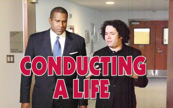 (Photos courtesy of TS Media, Inc.) Tavis Smiley talks about his latest special report on conductor Gustavo...