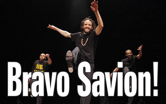 (Photo courtesy of Savion Glover) Legendary tap dancer Savion Glover blended soul, flamenco and speed to enthrall...