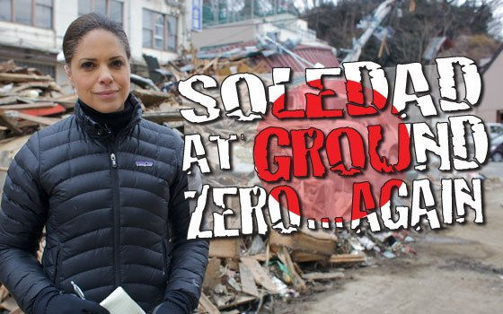 "CNN anchor and special correspondent Soledad O'Brien reports from Japan on the aftermath of the earthquake and tsunami that struck the country. On another note, O'Brien's documentary ""Unwelcome: The Muslims Next Door,"" will debut on CNN/U.S. on March 27 at 8p.m. EST and PST."