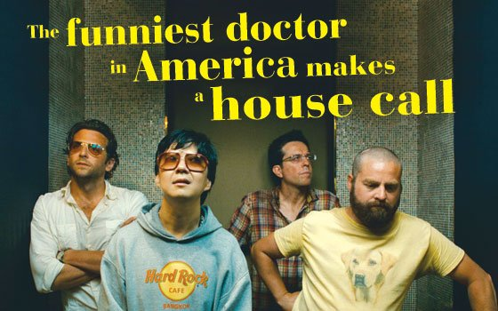 (From l to r): Bradley Cooper as Phil, Ken Jeong as Mr. Chow, Ed Helms as Stu and...