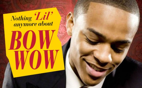 "Shad ""Bow Wow"" Moss started his career as a rapper and has moved to the big screen. (Photo..."