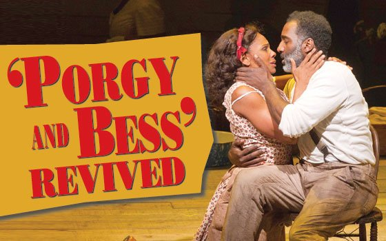 "Audra McDonald and Norm Lewis star in ""The Gershwins' Porgy and Bess."" (Michael J. Lutch photo) Director..."