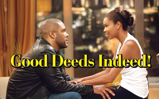 "(Photo courtesy of Lions Gate Entertainment) Tyler Perry talks about his latest relationship drama ""Good Deeds"" ..."