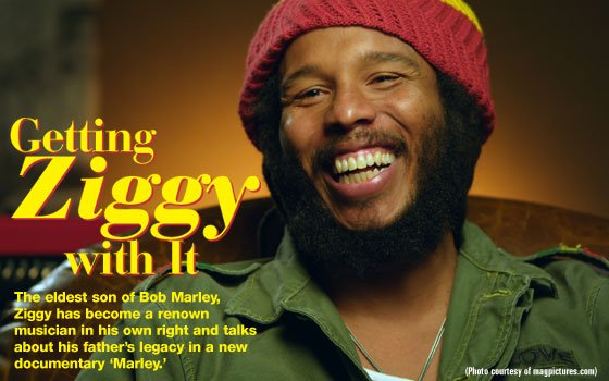 "David Nesta ""Ziggy"" Marley was born in Trenchtown, Jamaica, on October..."