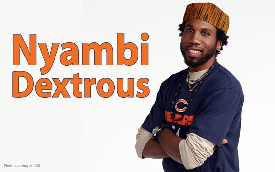 Versatile Shakespearean actor and television comedy sensation Nyambi Nyambi stars on...
