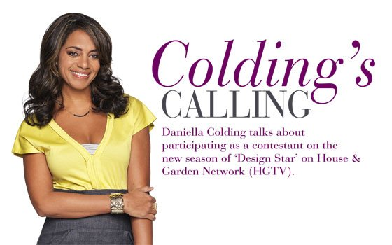 Danielle Colding, 36, is an interior designer with her own residential...