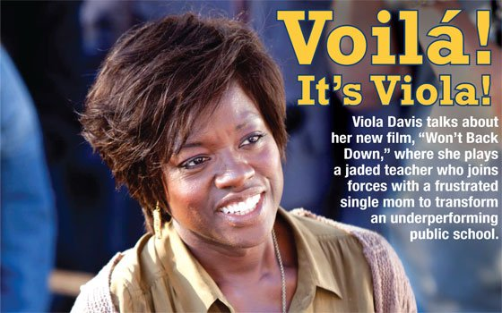 Viola Davis, left, and Maggie...