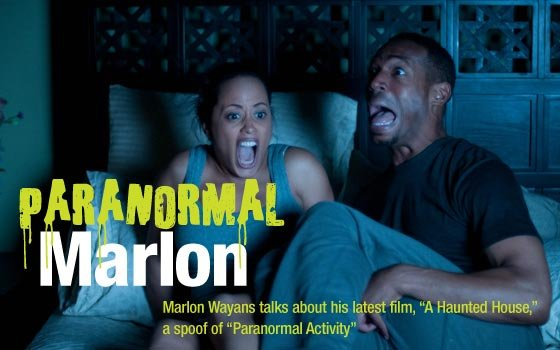 Marlon Wayans on the...