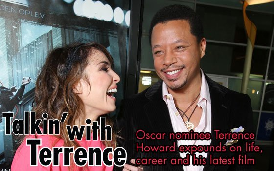 Actor Terrance Howard says he enjoys playing...