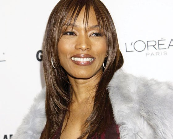 Actress Angela Bassett arrives at the 2002 Glamour Women of the Year Awards on Monday, Oct. 28, 2002...