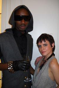 "Monique Williams and Nathaniel ""Skip"" Askia"