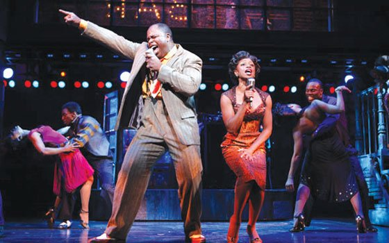 "J. Bernard Calloway and Montego Glover star in ""Memphis,"" winner of the 2010 Tony Award for Best Musical...."