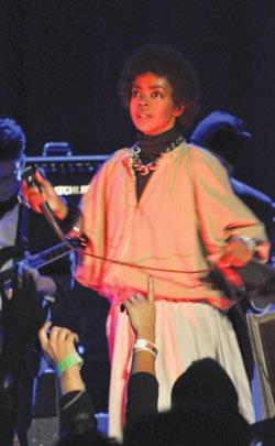 Lauryn Hill at the Wilbur Theatre.