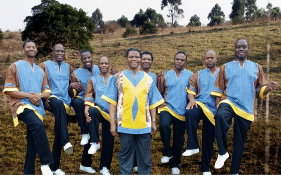 "Ladysmith Black Mambazo is currently touring to promote its album, ""Songs from a Zulu Farm."" They performed at..."
