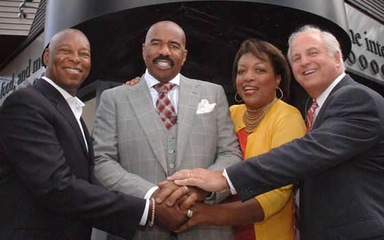 Comedian and best-selling author Steve Harvey...