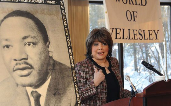 Award-winning TV journalist Carole Simpson recalls a meeting with Dr. Martin Luther King Jr. that changed her life ...
