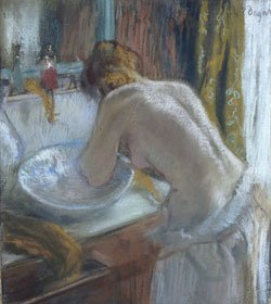 """The Tub,"" 1886, Edgar Degas (French, 1834 -1917) Pastel Paris, Musée d'Orsay, bequest of Comte Isaac de Camondo, 1911, © Photo Musée d'Orsay/Courtesy, Museum of Fine Arts, Boston"