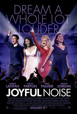 "Queen Latifah talks about her role in ""Joyful Noise,"" a musical comedy co-starring Dolly Parton Kam Williams ..."