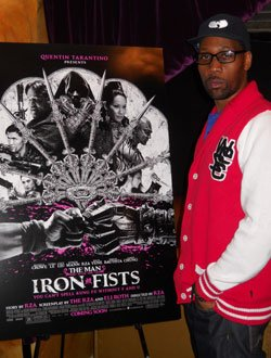 RZA at Royale Boston Nightclub before his Oct. 4 performance.