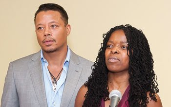 Actor Terrence Howard is joined by Shaumba-Yanje Dibinga, founder of OrigiNation Cultural...