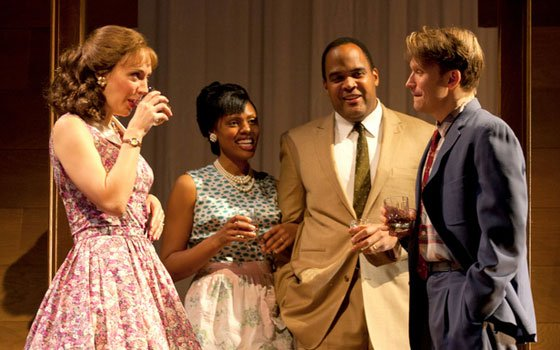 (Huntington Theatre Company Photo) Jules BeckerA house-buying 1950's Chicago black family fends...