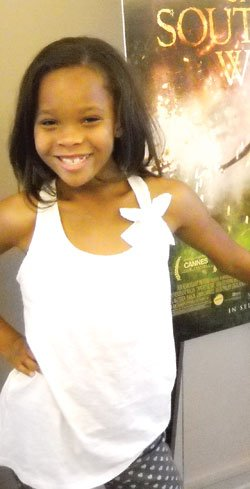 """Beasts of the Southern Wild"" star and Oscar nominee Quvenzhané Wallis."