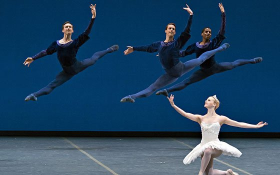 The Boston Ballet is presenting two 20th-century masterpieces by George Balanchine and...