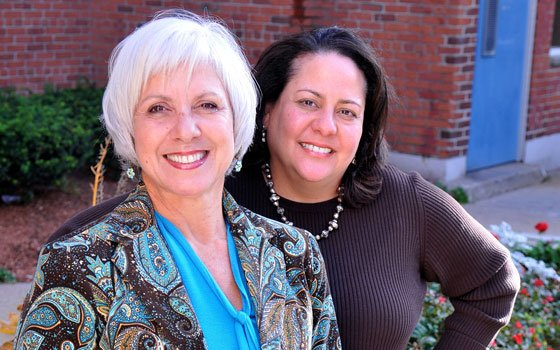 Dr. Hortensia Amaro and Rita Nieves led the team that developed the Boston Consortium Model for treating women with...
