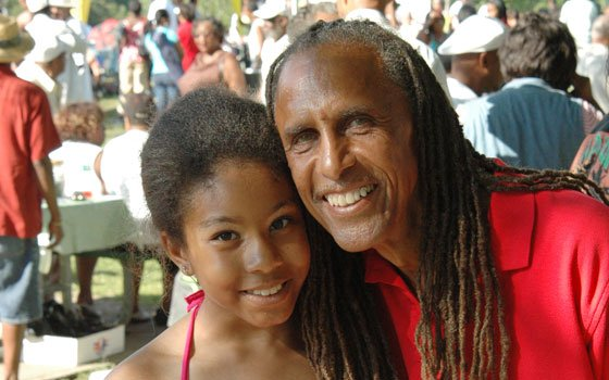 John Wyche and his daughter Niambi were two of many celebrating at this year's Roxbury Reunion, held last...
